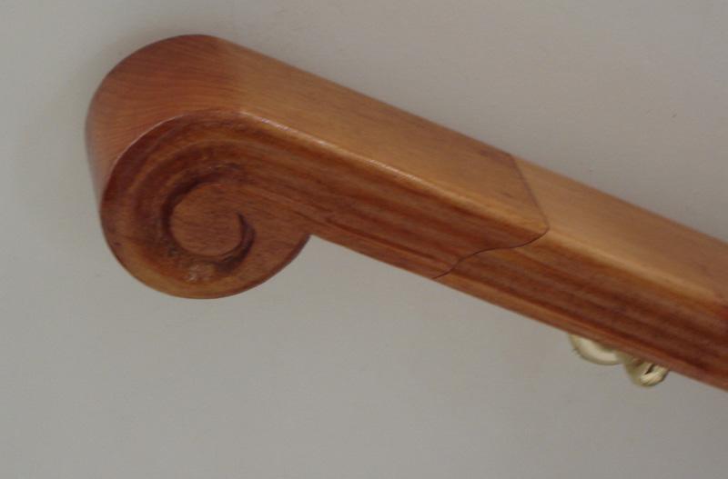 Fabricaci n de escaleras de madera en argentina venta de - Pasamanos de madera para escaleras ...